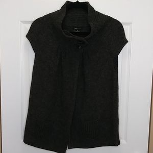 BCBGMAXAZRIA 2 Button Wool Blend Cardigan
